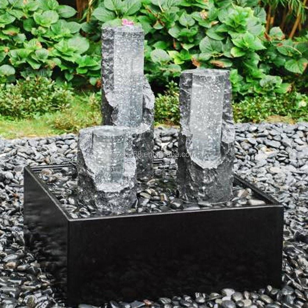 Moderne kunst ma geschneiderte stein brunnen skulptur - Gartendekoration modern ...