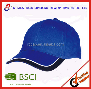 13772e7a1392a sporting goods china wholesale websites 6 panel T C polyester cotton cap  promotion custom hat