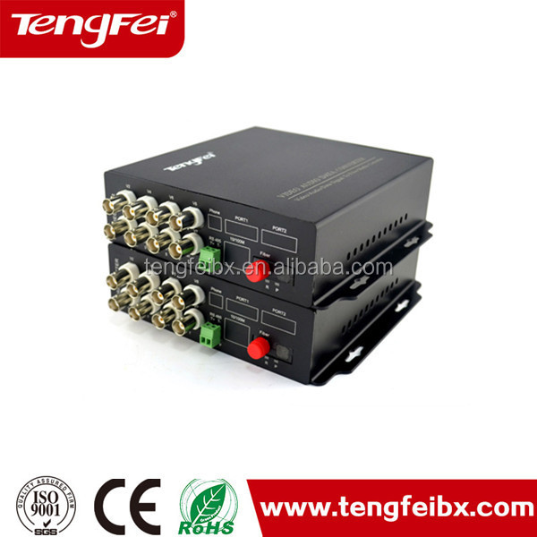 Tengfei Video Data Digital Optical Converter Analog Signal Transmitter Receiver