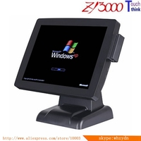 Cheap price biometric pos terminal china pos system with dual screen