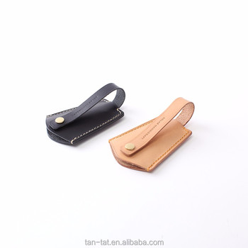 Genuine Leather Key Holder With Pull Strap Keychain Key Pouch - Buy ... fb086a5dda3a