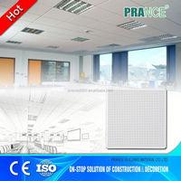 Class A Fire performance acoustic ceiling tiles 12 x 12