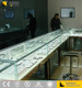 High-end Nobel Glass Display Showcase Jewellery Showroom Furniture Designs jewelry showcase