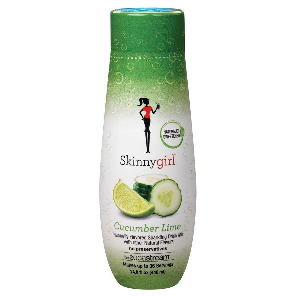 SodaStream Skinny Girl Cucumber Lime Syrup, 14.9 Fluid Ounce by SodaStream