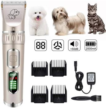 hot sale professional Rechargeable Cordless Electric Dog Hair Pet Grooming Clippers