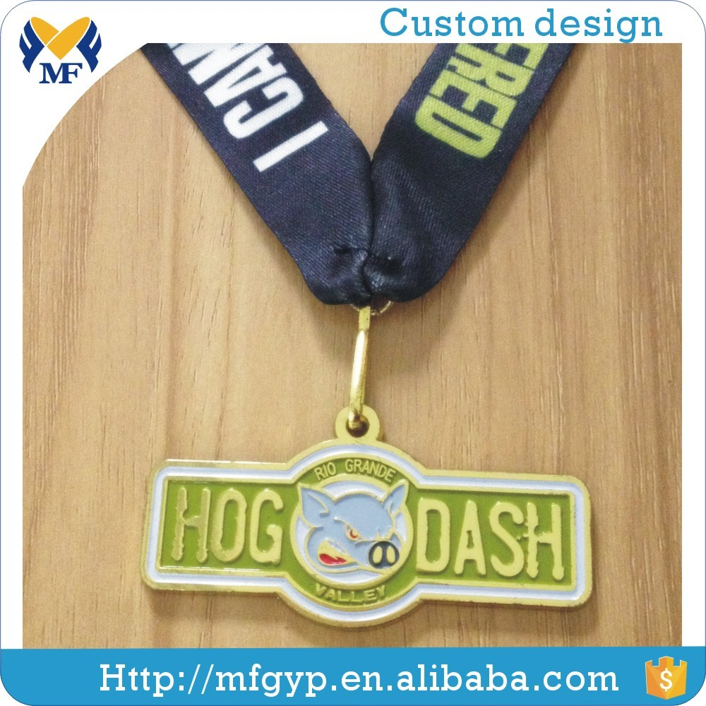 Arts and crafts customized logo honor cheap sport medal