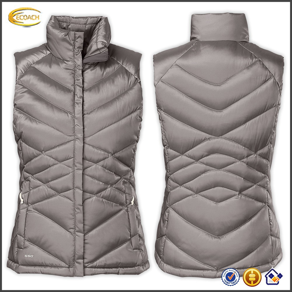 fashion stylish winter warm Insulated goose down vest