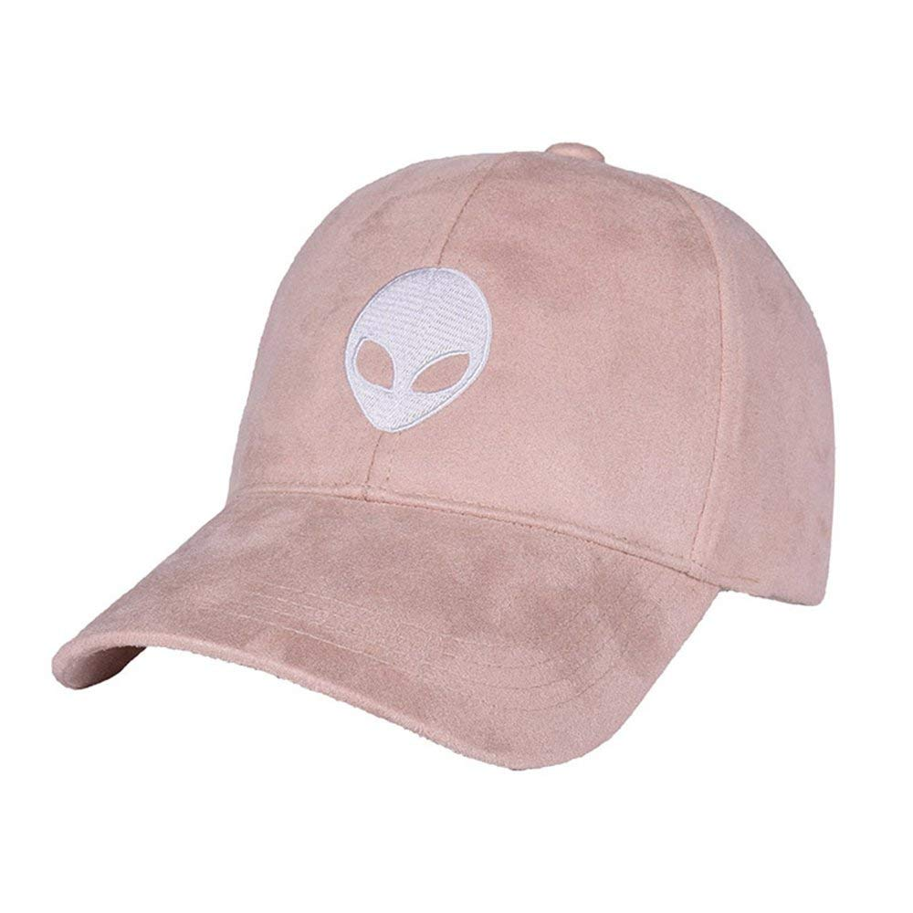 b7019181 Get Quotations · Baseball Cap Snapback Unisex Faux Suede Adjustable Aliens  Embroidery Classic Hat