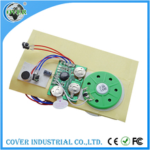 Factory record voice mini greeting card sound module