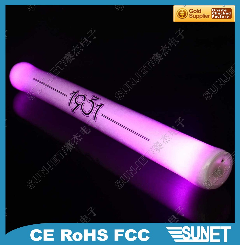 Christmas party favor sound activated glow LED light toy stick