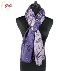 High quality fashion women winter turkey two tone color block scarf pashmina