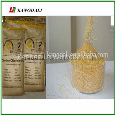 Animal Feed addititves Choline Chloride corn cob for fish feed