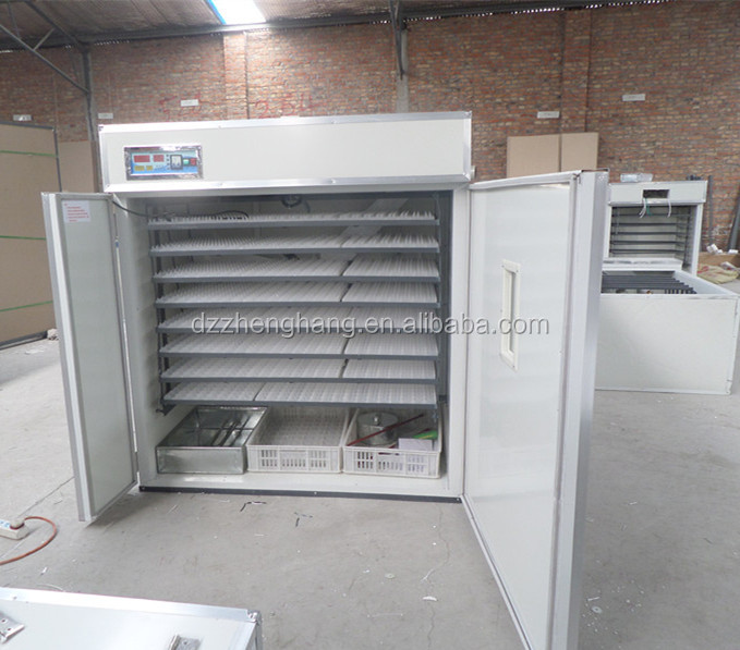 1848 fertilized chicken eggs Hatchery/automatic eggs incubator/Couveuse in hot sale