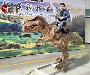 CET-N878 Amusement Park Riding Toys Rocking Animatronic Dinosaur Ride For Sale