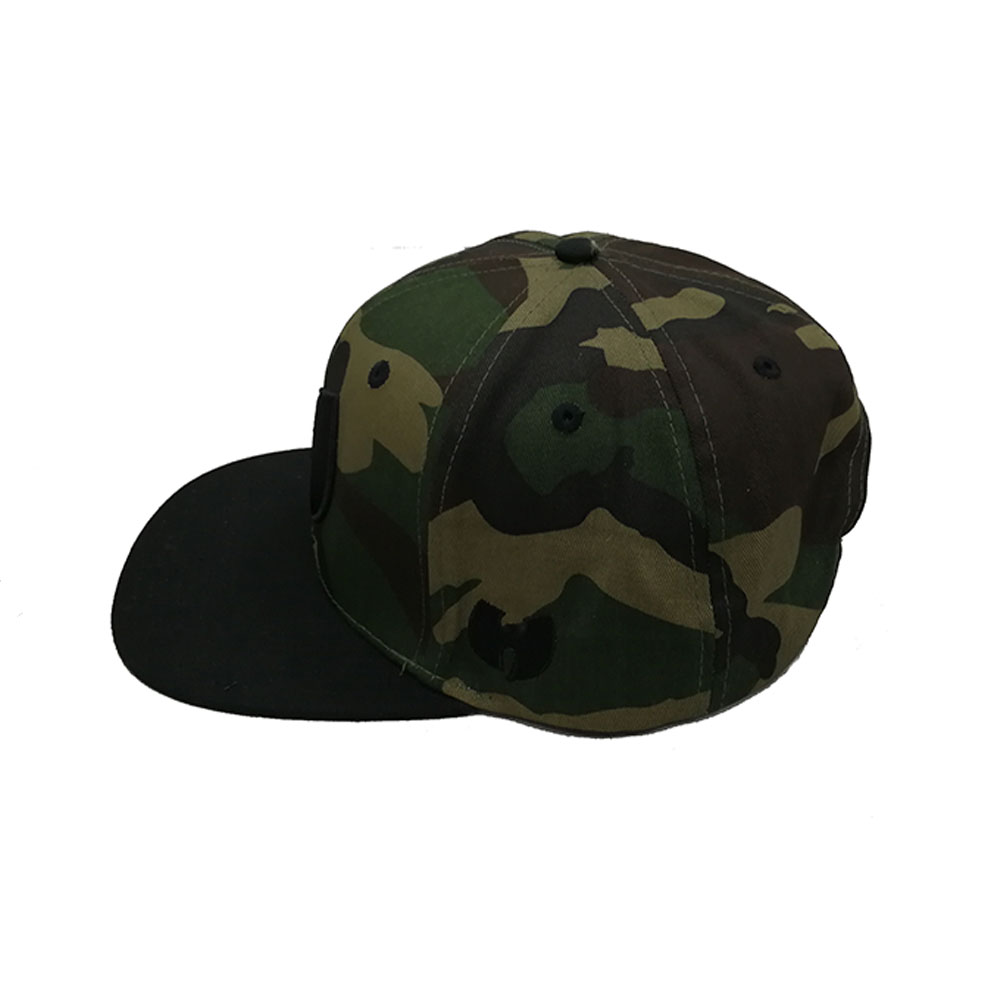 Hot Selling Custom  Camouflage Snap Back Caps 6 Panel Camo Snapback Hats For Women Men