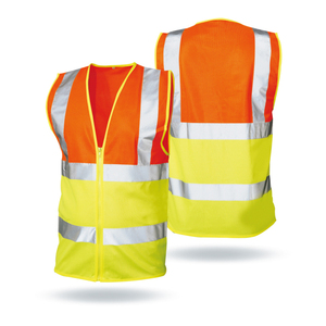 High Visibility Police Airport Construction Security Reflective Safety Vest Clothing With Pocket
