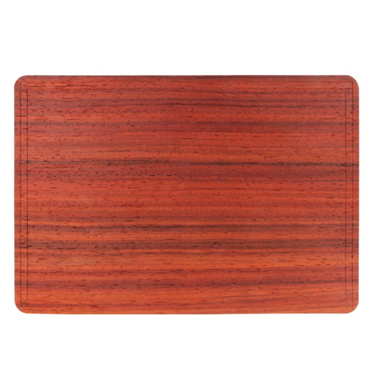 Unique style wooden skin custom laptop sticker skin for macbook