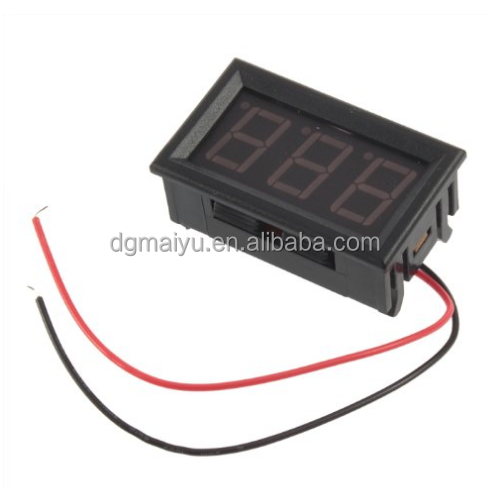 Mini Digital Voltmeter 4.5-30V Red LED Auto Car Truck Vehicles Motor Voltage Volt Panel Gauge Meter