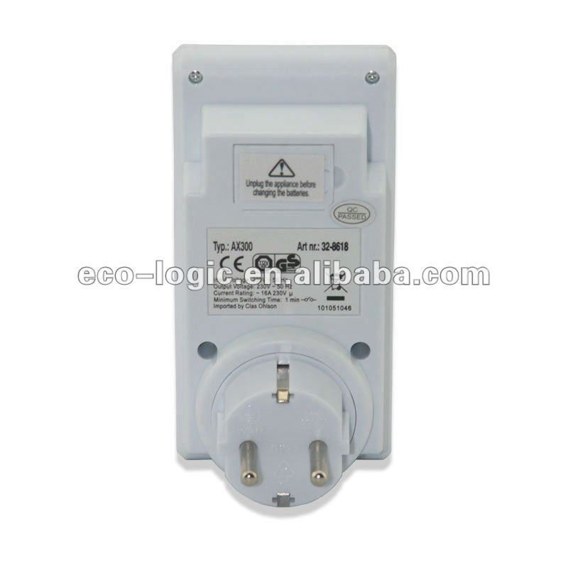 2012 programmable electronic timer shut off automatically when not needed