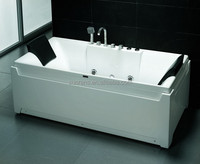 Luxury Corner freestanding Whirlpool massage bathtub