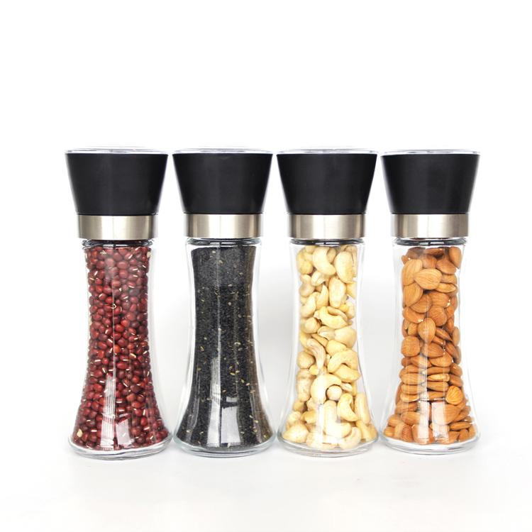 2019 Hight Qualität 5pcs Glas Schüssel Set mit Kunststoff Deckel Mischen Behälter Größen