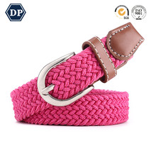 Factory Price New Fashion Custom Colorful Elastic Trouser Belt