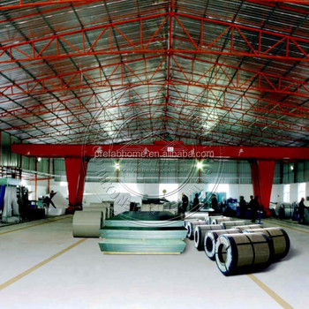 China supplier prefabricated steel structure workshop warehouse