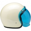 2017 high quality white vintage mini motorcycle helmet