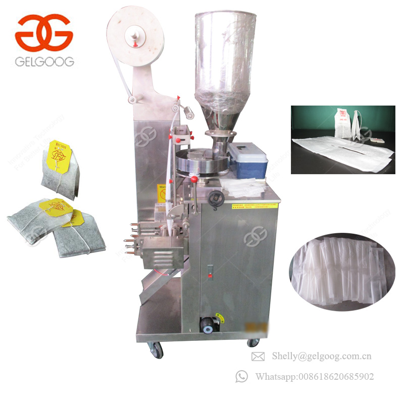 Double Chamber Loose Tea Sugar Sachets Coffee Pouch Bagging Machinery Healthy Care Teabag Packing Machine