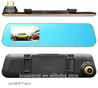 FACTORY price dual lens car camera mirror dvr full hd 1080p video recorder car backup camera for sale cheap dashcam