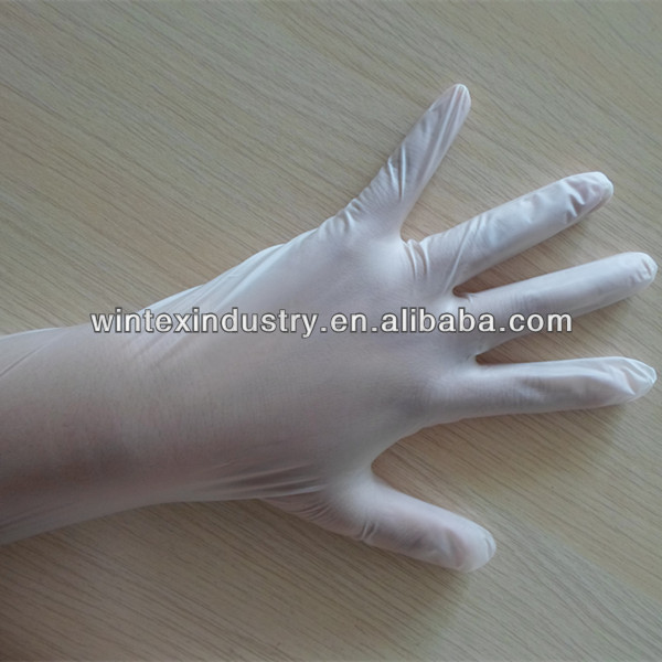 powdered vinyl gloves;stretch vinyl gloves