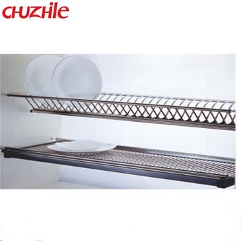 Kitchen Cabinet Plate Rack Organizer Stainless Steel Dish Rack  sc 1 st  Alibaba & Kitchen Cabinet Plate Rack Organizer Stainless Steel Dish Rack - Buy ...
