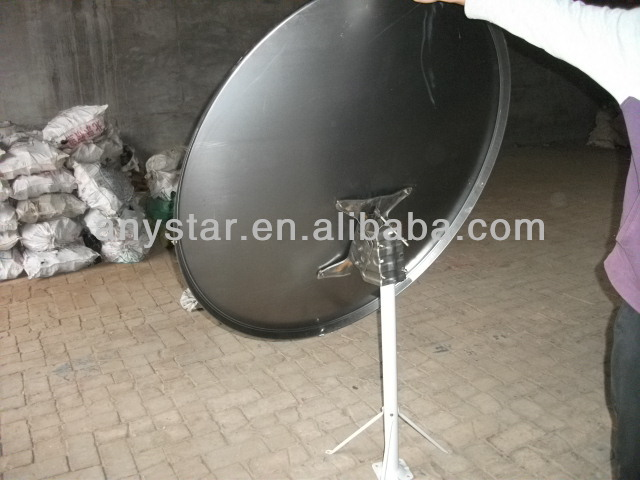 offset ku band 120cm satellite dish