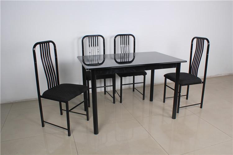 Eettafel Set 6 Personen.Het Hete Verkopen Goedkope Indoor Meubels Melamine Top Restaurant
