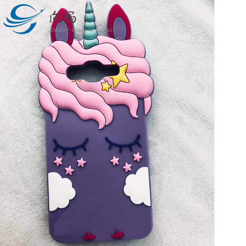 2018 Top Selling Phone Case And Accessories Cute Cartoon Soft Silicone Case For Samsung Galaxy s7 egde, Carcasas para J2 Prime