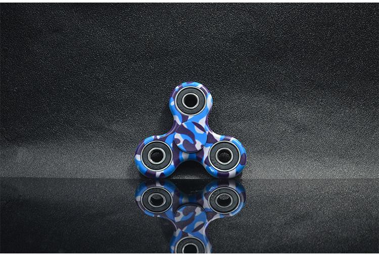 2017 7.5x7.5x1.1cm Camouflage Fidget Spinner