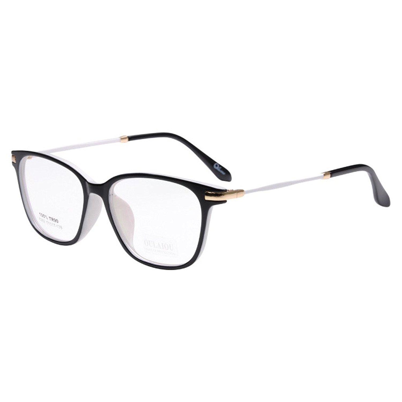 87aa586dec8e Get Quotations · Simvey Women s Retro Designer Clear Lens Optical Glasses  Frames TR90