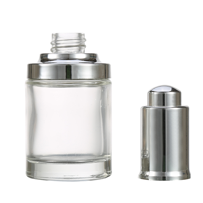 Top Quality Customized Clear Essential Oil Glass Bottle