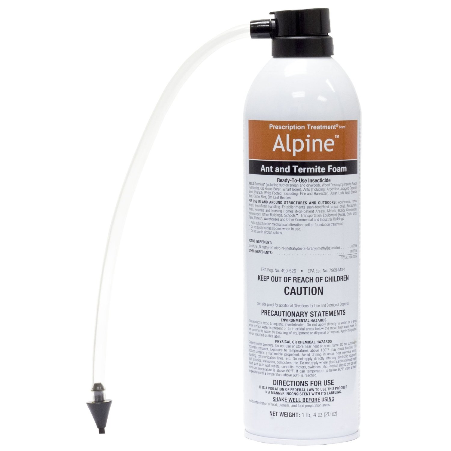Alpine Termite and Ant Foam Non-Repelling-1 20 oz. Can by Alpine