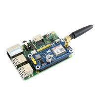 Waveshare GSM/GPRS/Bluetooth HAT for Raspberry Pi 2B/3B/3B+/Zero/Zero W SIM800C Supports SMS/DTMF/HTTP/FTP/MMS/email etc