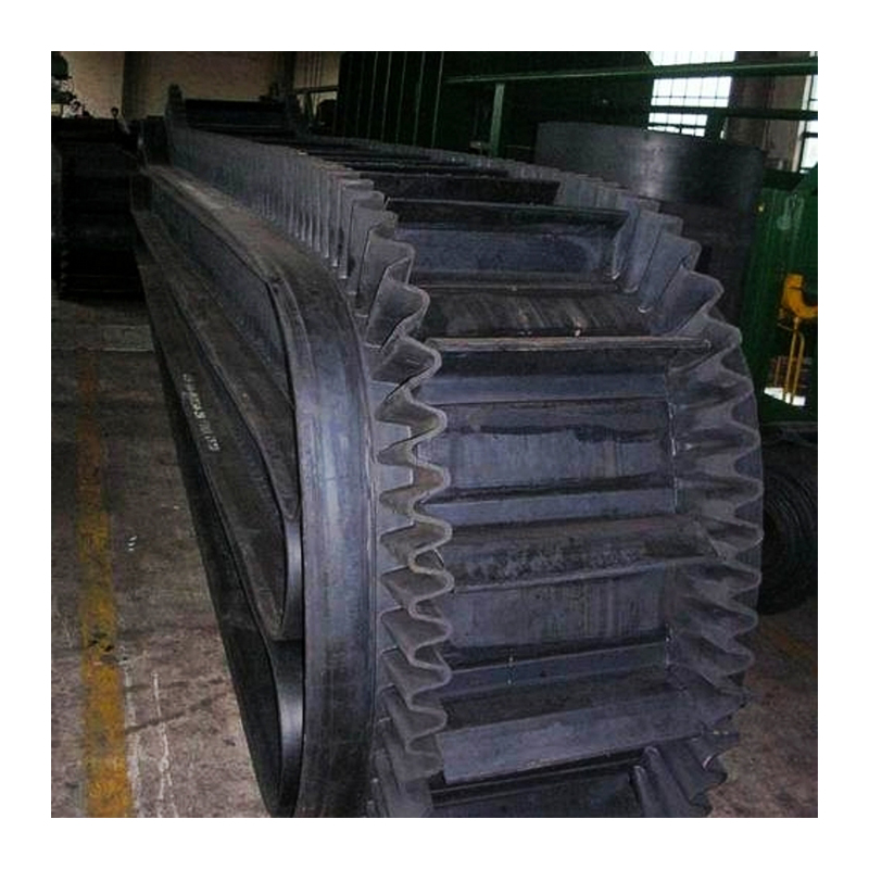 fabric EP nylon NN sidewall side wall rubber conveyor belt