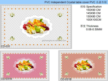 pvc table cover trendy tablecloth with fruits and flowers