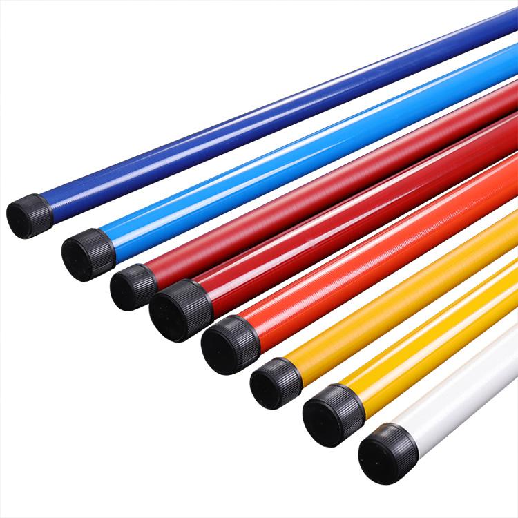 Высокое качество 10 мм 12 мм Пултрузия круглая прочная коническая Стекловолоконная телескопическая трубка