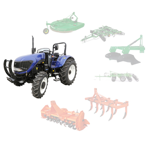 Enfly DQ1004 Agricultural equipment Machinery 100hp 4WD farm tractors price  for sale in philippines
