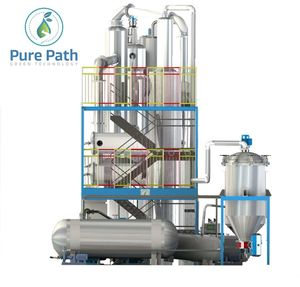 Hydraulic oil Cleaning Machine Lubricant oil reclaiming Plants Recycled Base Oil Purification Machine