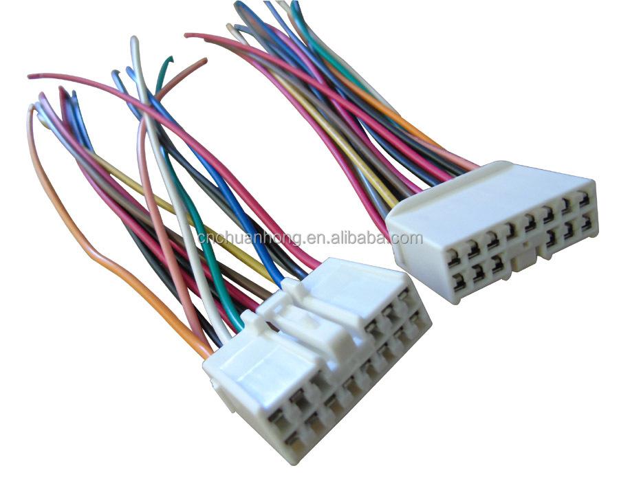Door Wiring Harness 14 Pin Connectors For Toyota - Buy 14 Pin Door ...