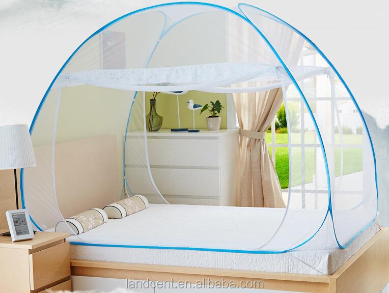 de haute qualit pliable pop up moustiquaire pour lit double moustiquaire id de produit. Black Bedroom Furniture Sets. Home Design Ideas