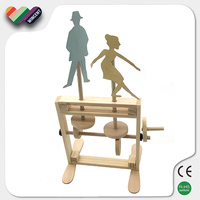 3D Puzzle Spin Couple Dancer Educational Science Kits