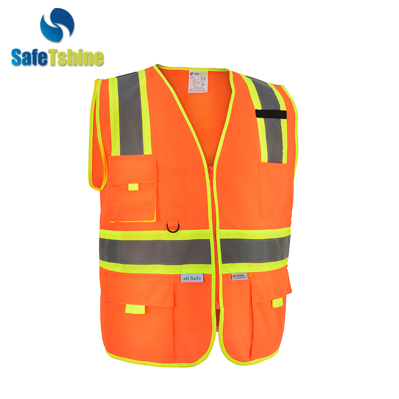 Wide varieties 5cm safety reflective tape high visibility work vests