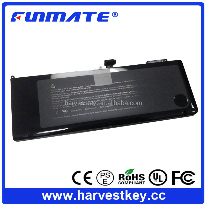 "73WH Battery for Apple 15"" MacBook Pro A1321 A1286 battery MC118 (Mid-2009 2010 Version)"